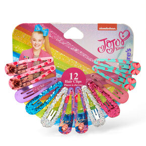 JoJo Siwa™ Snap Hair Clips - 12 Pack,