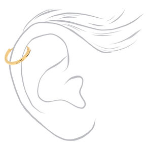 Sterling Silver 10MM Cartilage Hoop Earring,