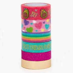 BFF Avocado Washi Tape Set - 6 Pack,