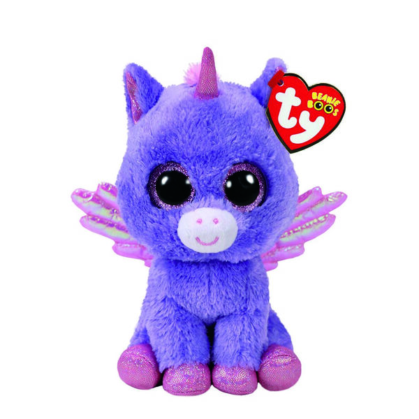 Claire's - tybeanie boo small athena the pegasus soft toy - 1