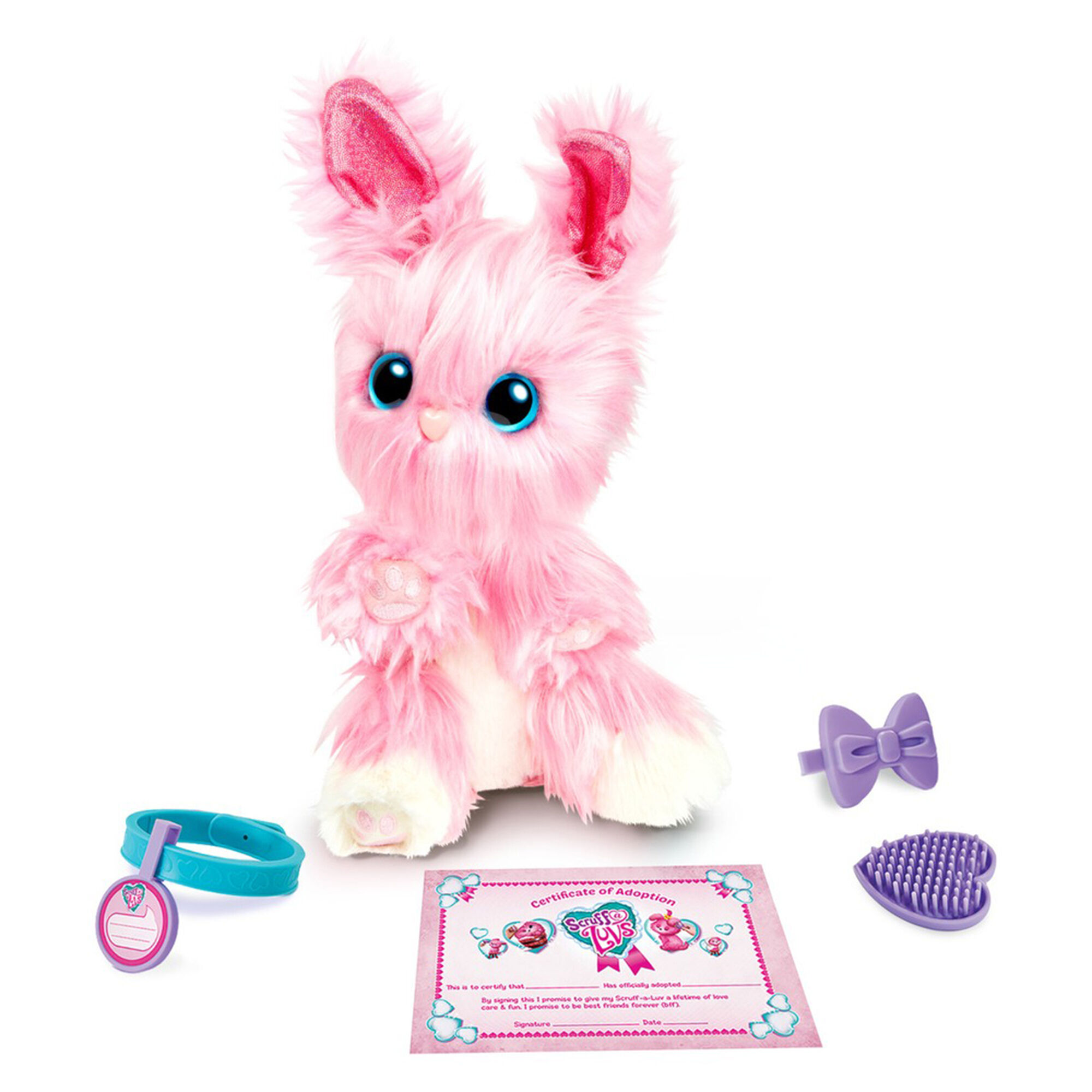 Little Live Pets Scruff-a-Luvs™ Surprised Plush Toy - Pink