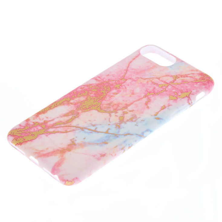 Pink Pastel Marble Phone Case - Fits iPhone 6/7/8/SE,