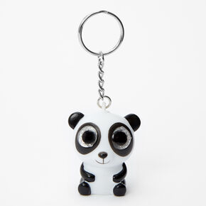 Panda Eye Pop Keychain,