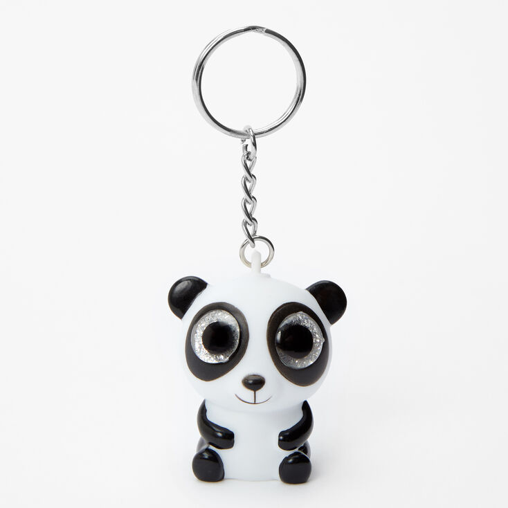 Panda Eye Pop Keychain,