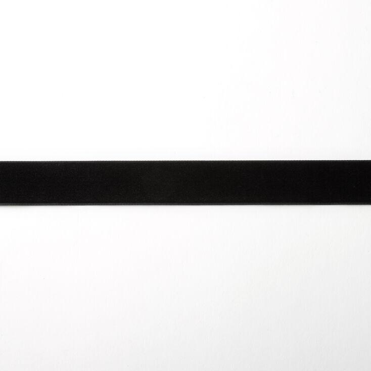 Velvet Choker Necklace - Black,