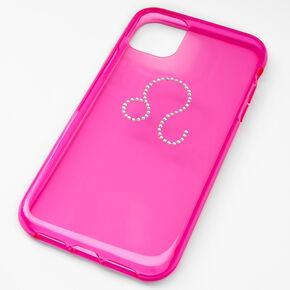 Pink Leo Zodiac Phone Case - Fits iPhone® 11,
