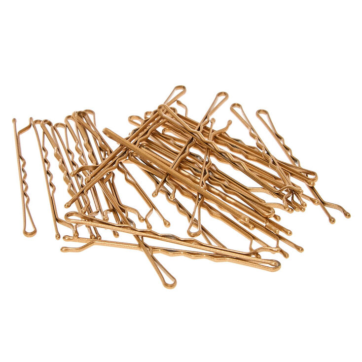 Large Blonde Bobby Pins - 30 Pack,