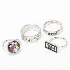 BT21© Rings – 4 Pack,