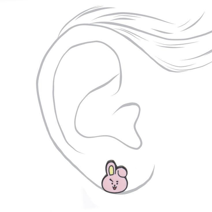 Boucles d'oreilles BT21© – Lot de 5,
