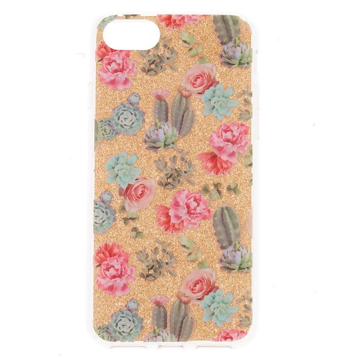 Desert Cactus Rose Phone Case - Fits iPhone 6/7/8/SE,