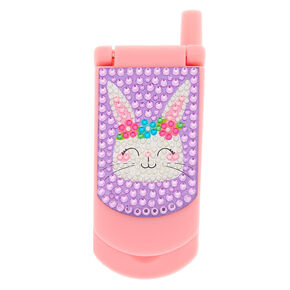 Claire's Club Claire the Bunny Flip Phone Lip Gloss Set,