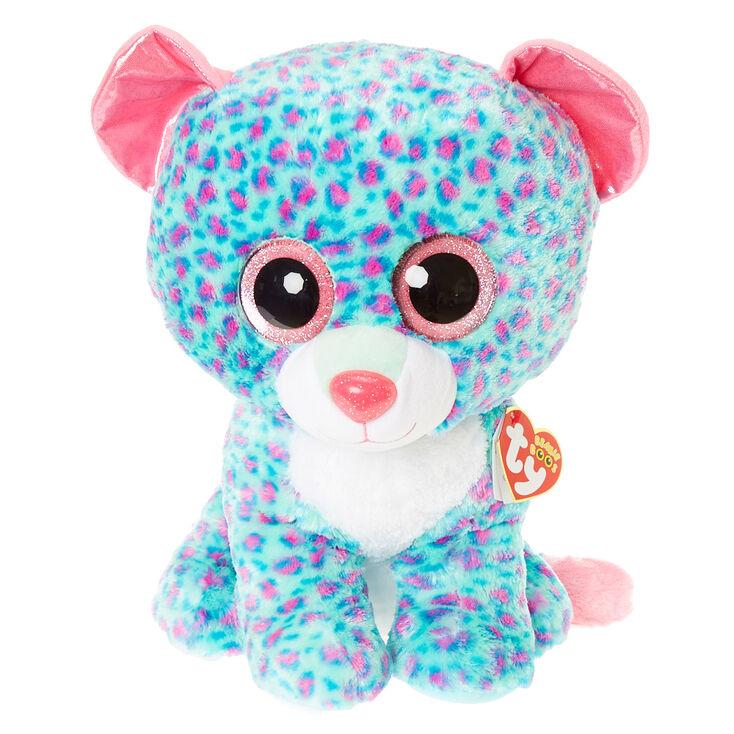 Ty Beanie Boo Large Sydney the Leopard Plush Toy 1dd90ce31f6