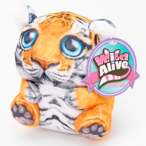 Wild Alive™ Sam the Tiger Plush Toy - Orange,