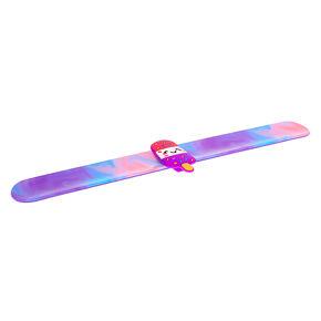 Lollipop Slap Bracelet - Purple,