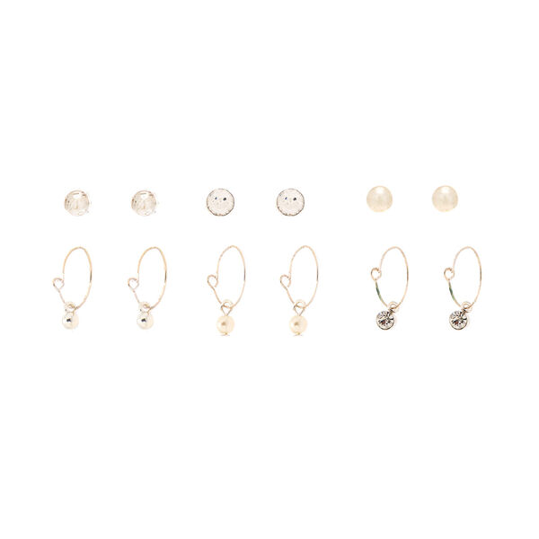 Claire's - mixed earrings set - 1