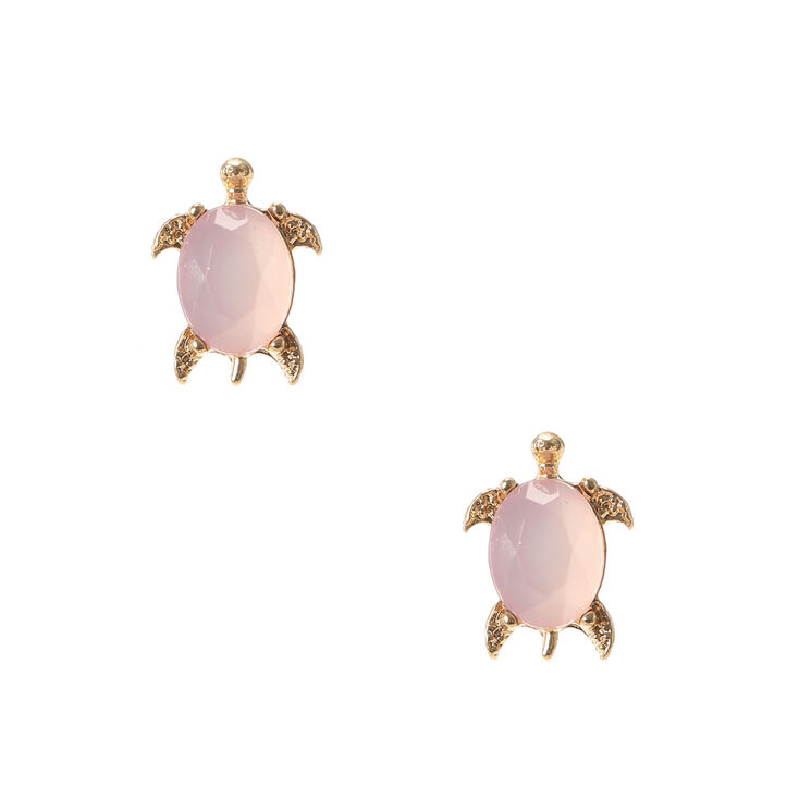 turtle sea little earrings stud