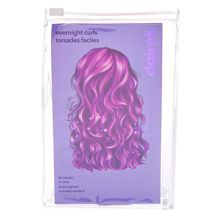 Accessoires coiffure boucles faciles,
