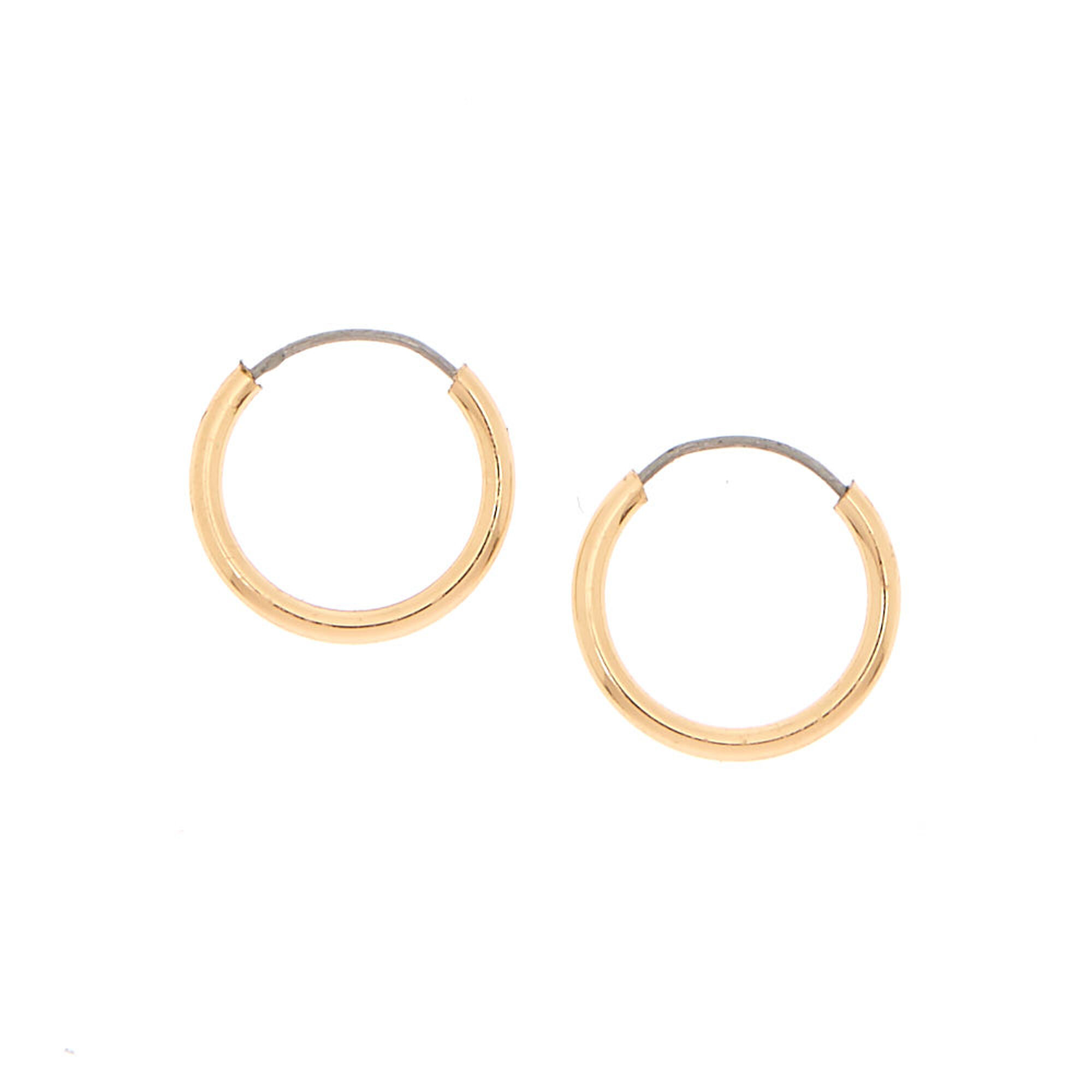 gold earrings blake rose fetneh jewellery hoop collections jewelry rosehoop products