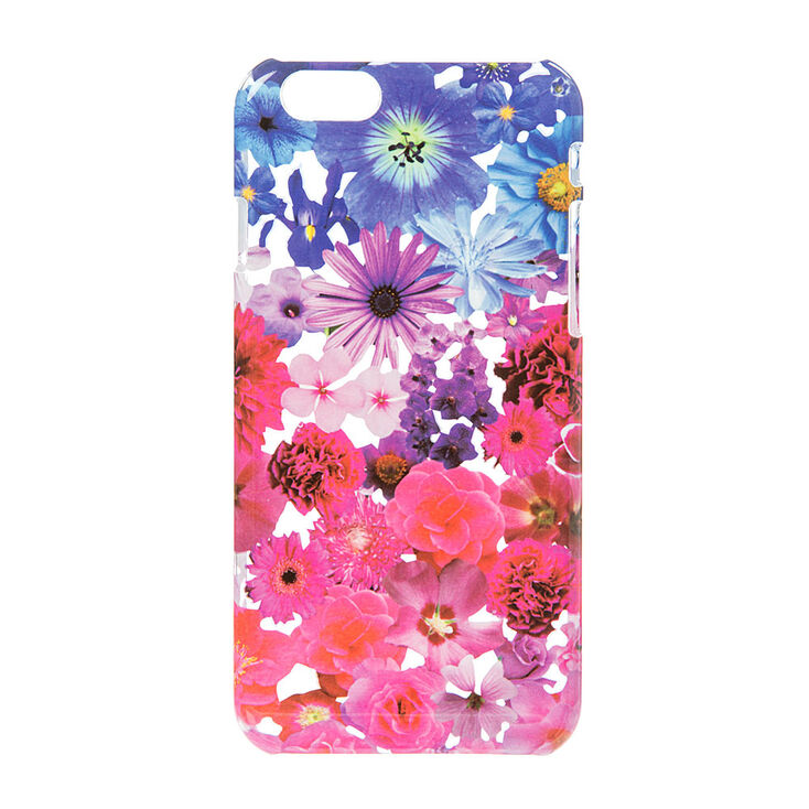 Pink And Blue Floral Phone Case Claires Us
