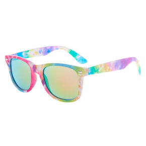 Rainbow Tie-Dye Retro Sunglasses,