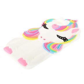 Silicone Sleeping Unicorn Phone Case - Fits iPhone 6/7/8 Plus,