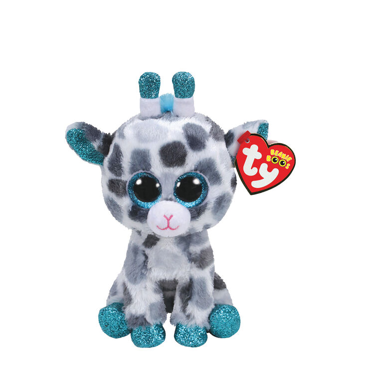 ty beanie boo small gia the giraffe plush toy claire s us