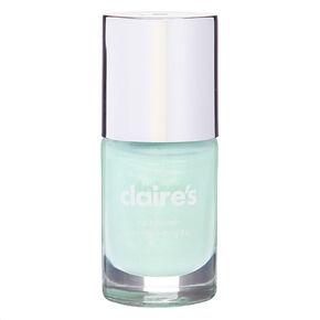 Vernis à ongles scintillant - Vert menthe,
