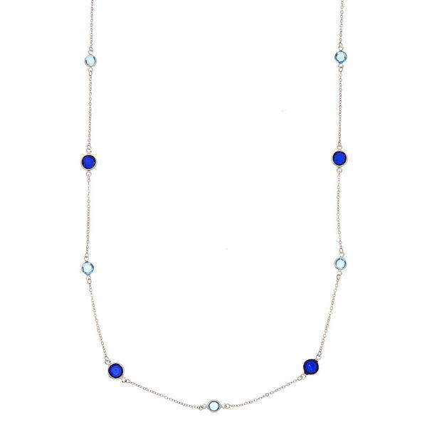Claire's - iridescent gem statement necklace - 1