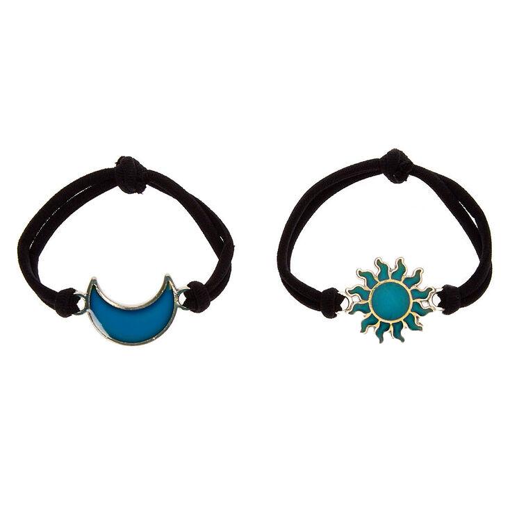 Sun & Moon Stretch Friendship Bracelets - 2 Pack,