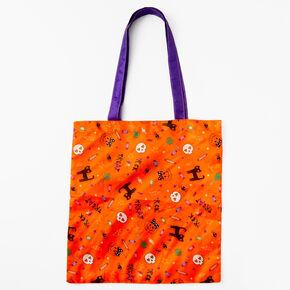 Halloween Trick Or Treat Bag - Orange,