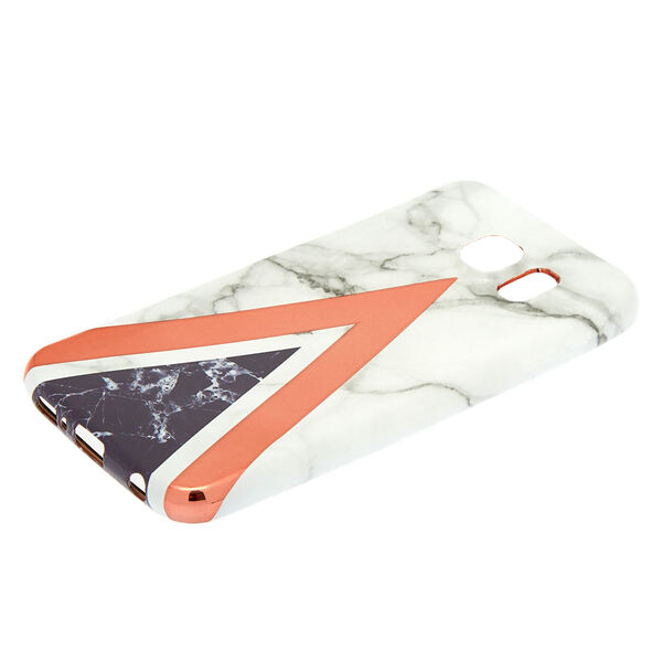 Claire's - geometric marble phone case - 2