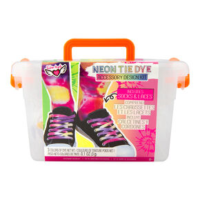 Fashion Angels® Neon Tie Dye Accessory Design Kit,