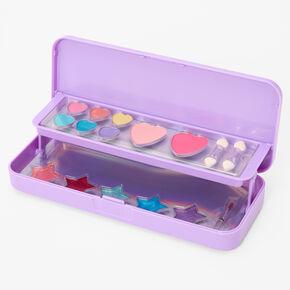 Rainbow Bling Makeup Palette - Purple,
