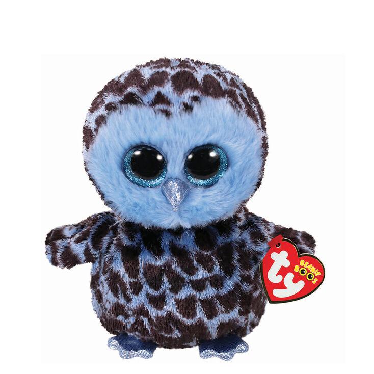 Ty Beanie Boo Small Yago the Owl Plush Toy,