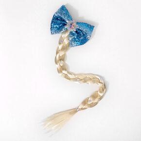Barrette à nœud à sequins et fausse tresse Elsa de La Reine des Neiges2 ©Disney,