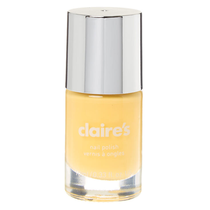 Solid Nail Polish - Pastel Yellow,