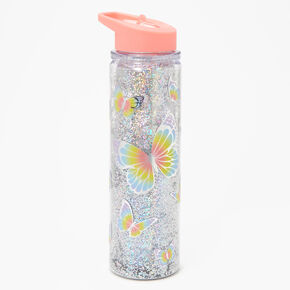 Butterfly Water Bottle - Coral,