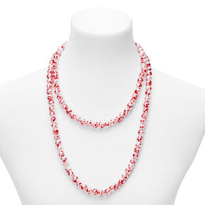Blood Splatter Beaded Jewelry Set - 2 Pack,