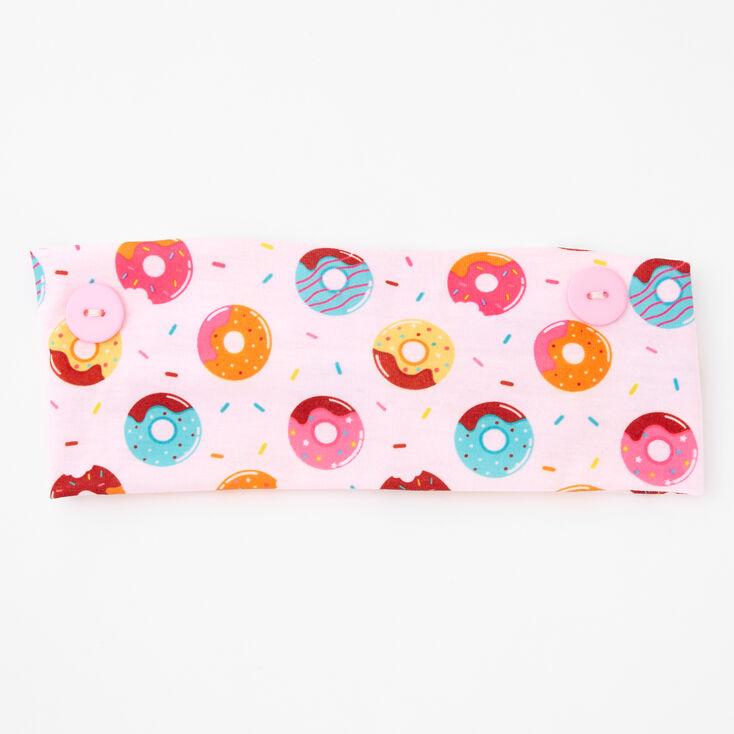 Donut Print Headwrap - Pink,