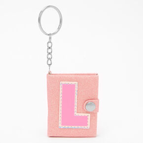 Initial Mini Journal Keychain - L,