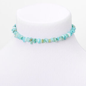 Puka Shell Choker Necklace - Mint,