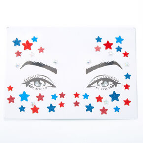 Red, White, And Blue Star Skin Gems,
