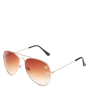 Daisy Aviator Sunglasses,