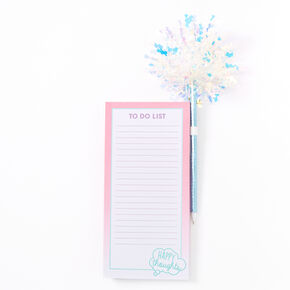 Happy Thoughts Locker Notepad & Pen Set,