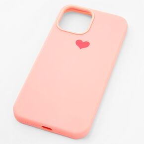 Pink Heart Phone Case - Fits iPhone 12 Pro Max,