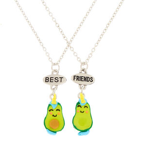 Avocado Unicorn Pendant Necklaces - Green, 2 Pack,