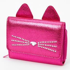Cat Mini Wallet - Pink,