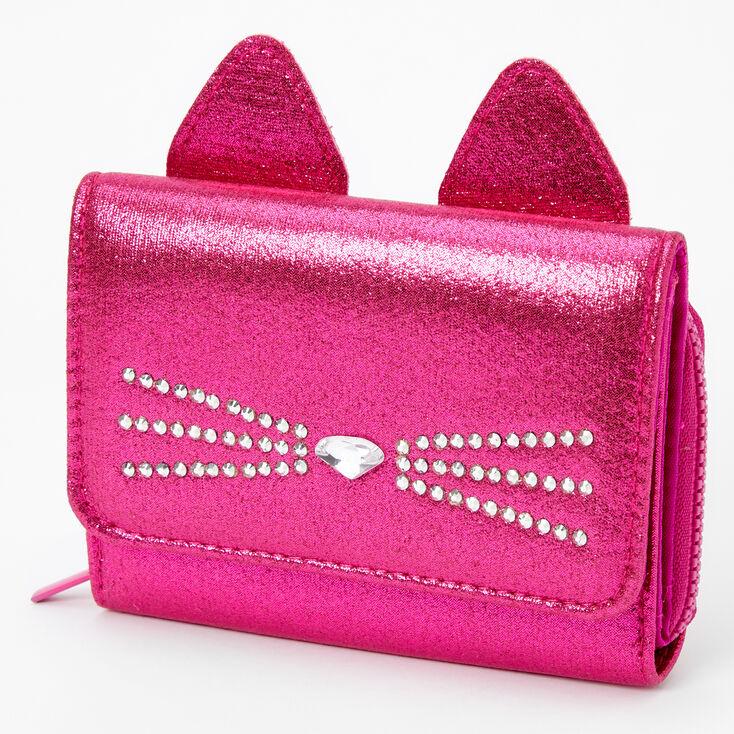 Cat Mini Wallet - Pink,