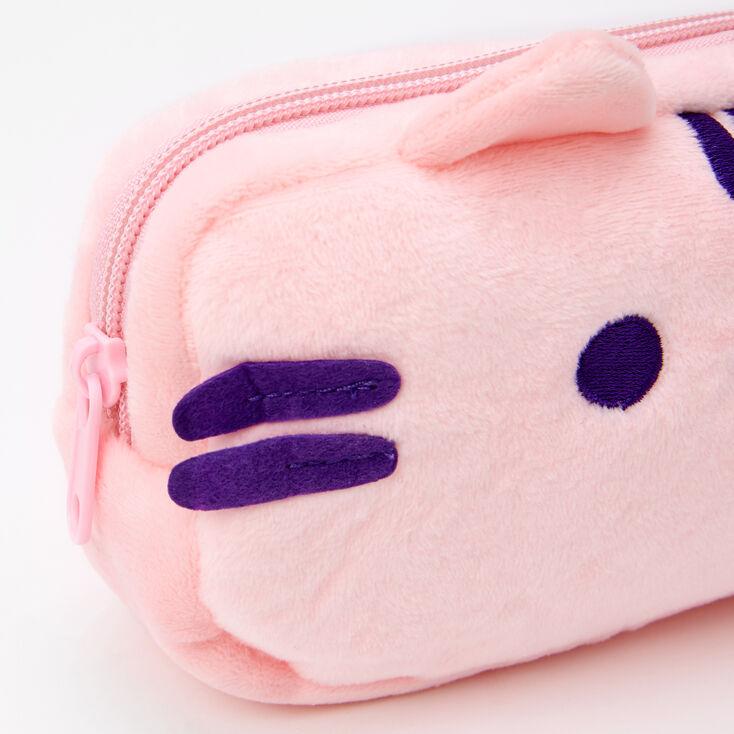 Pusheen® Plush Zippered Cosmetic Case - Pink,