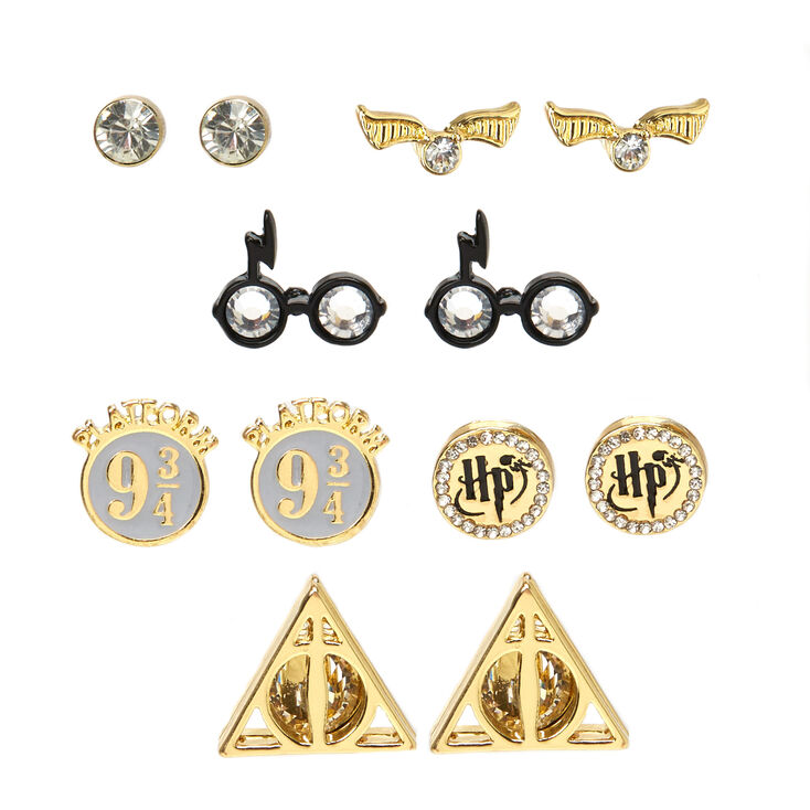 Harry Potter™ Assorted Stud Earring Set  - 6 Pack,